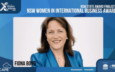 ipSCAPE CEO, Fiona Boyd recognised in the NSW Premier Export Awards